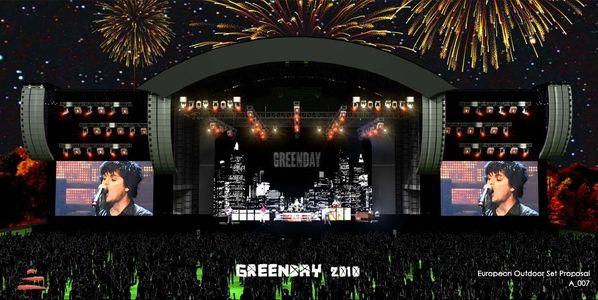 Green Day přivezou pračky, činky, ohňostroj a velkou podívanou